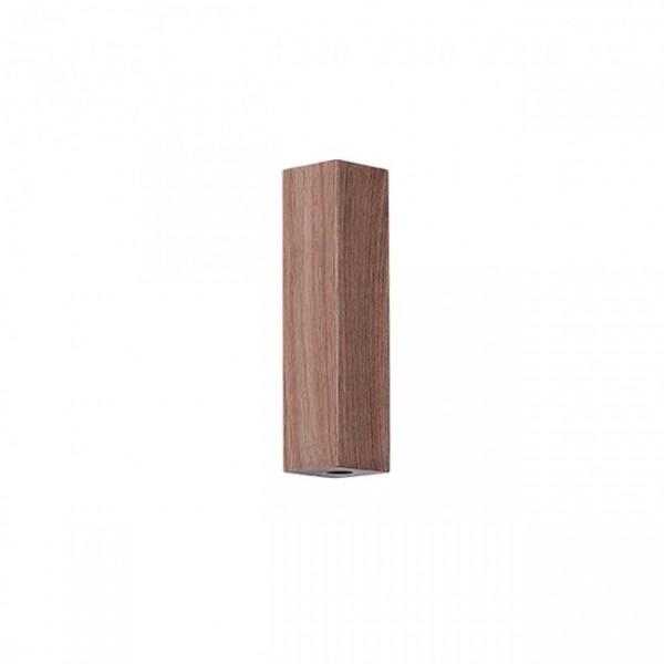 Aplica LED decorativa 6W SABER iluminare sus jos lemn de nuc lumina calda