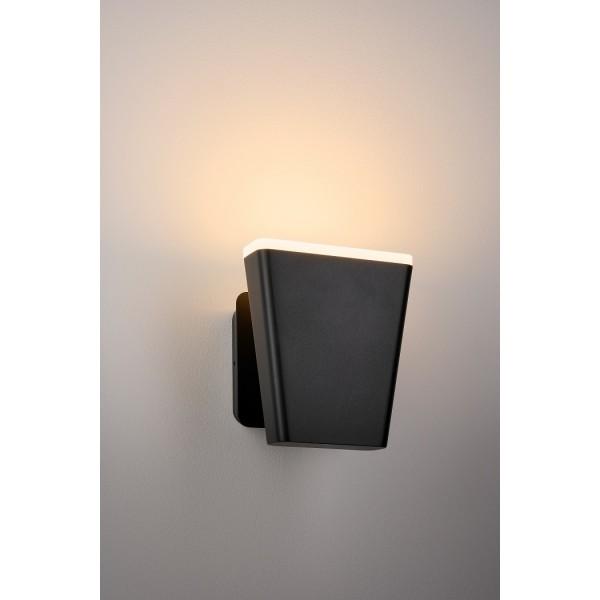 Aplica LED de perete 12.5W Mika SCHRACK antracit lumina calda