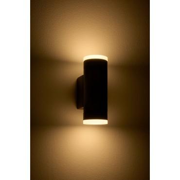 Lampa de perete GU10 Vida iluminare sus/jos antracit IP54