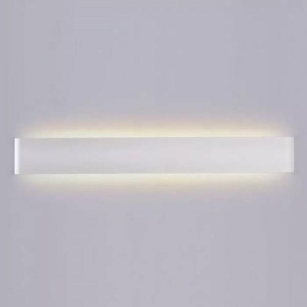 Aplica LED decorativa 20W IP44 alba iluminare sus jos