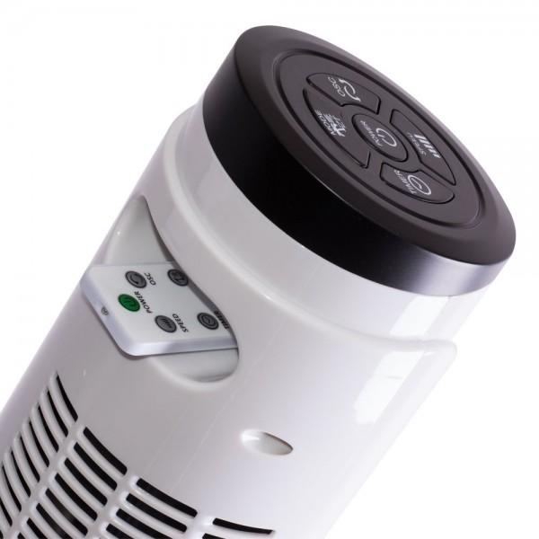 Ventilator turn 55W Alb cu telecomanda - 46 inch