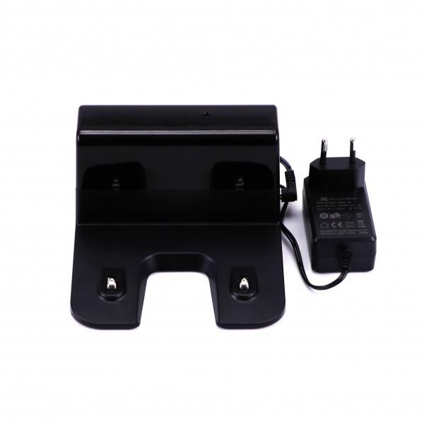 Robot de aspirare cu mop V-TAC Alb compatibil cu AMAZON ALEXA si GOOGLE HOME