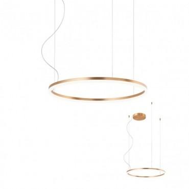 Suspensie LED 42W ORBIT 600mm bronz alb lumina calda