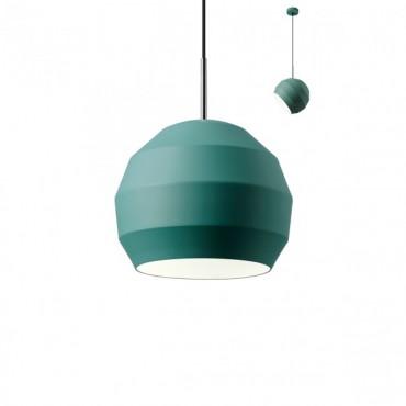 Pendul orientabil ANARU 250mm soclu E27 IP20 alb gri verde maro