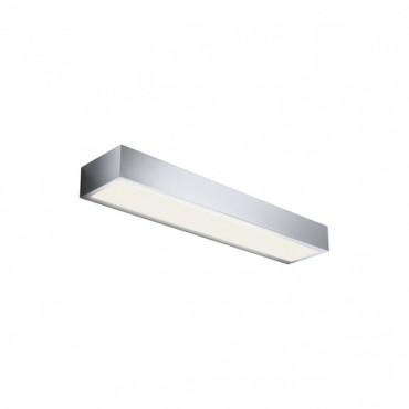 Aplica LED de perete 18W HORIZON 600mm crom iluminare sus jos lumina calda IP44