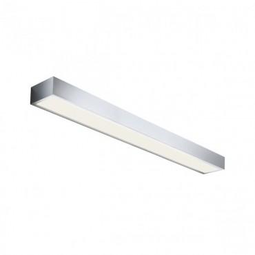 Aplica LED de perete 24W HORIZON 900mm crom iluminare sus jos lumina calda IP44
