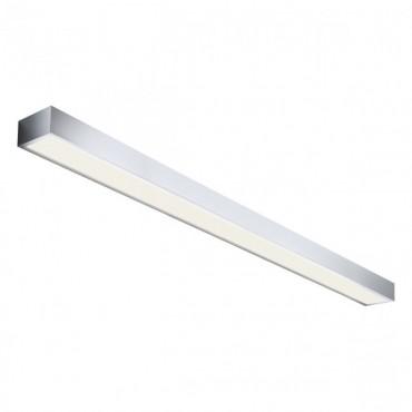 Aplica LED de perete 30W HORIZON 1200mm crom iluminare sus jos lumina calda IP44