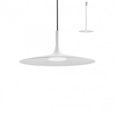 Pendul LED 7W KAI 340mm lumina calda alb negru
