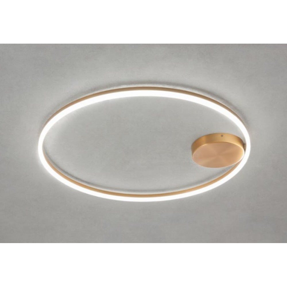 Lustra LED 42W ORBIT 600mm lumina calda iluminare directa indirecta