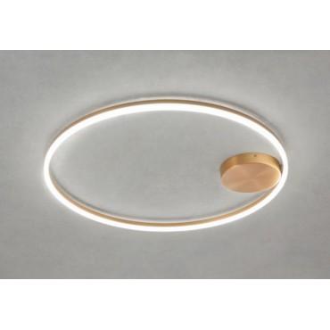 Lustra LED 42W ORBIT 600mm iluminare directa indirecta
