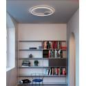 Lustra LED 55W ORBIT 800mm lumina calda iluminare directa indirecta