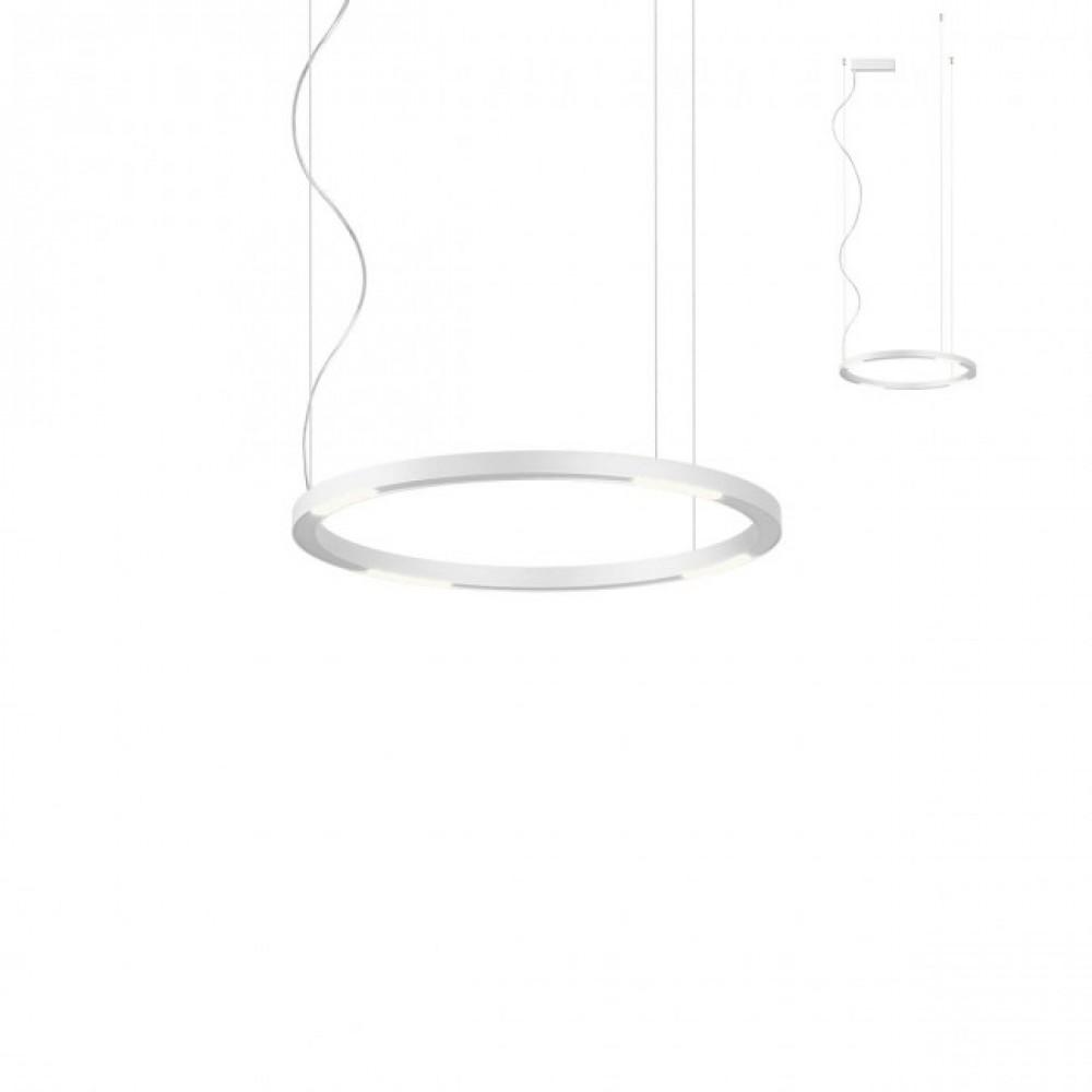 Suspensie LED 34W UNION 600mm CRI90 bronz alb negru lumina calda