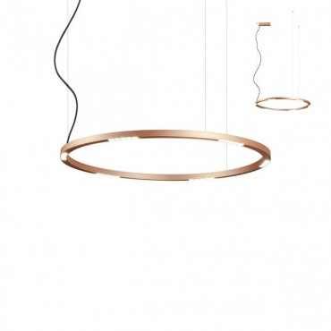Suspensie LED 50W UNION 900mm CRI90 bronz alb negru lumina calda