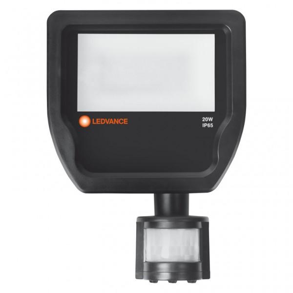 Proiector LED cu senzor 20W LEDVANCE Corp Negru Alb Neutru