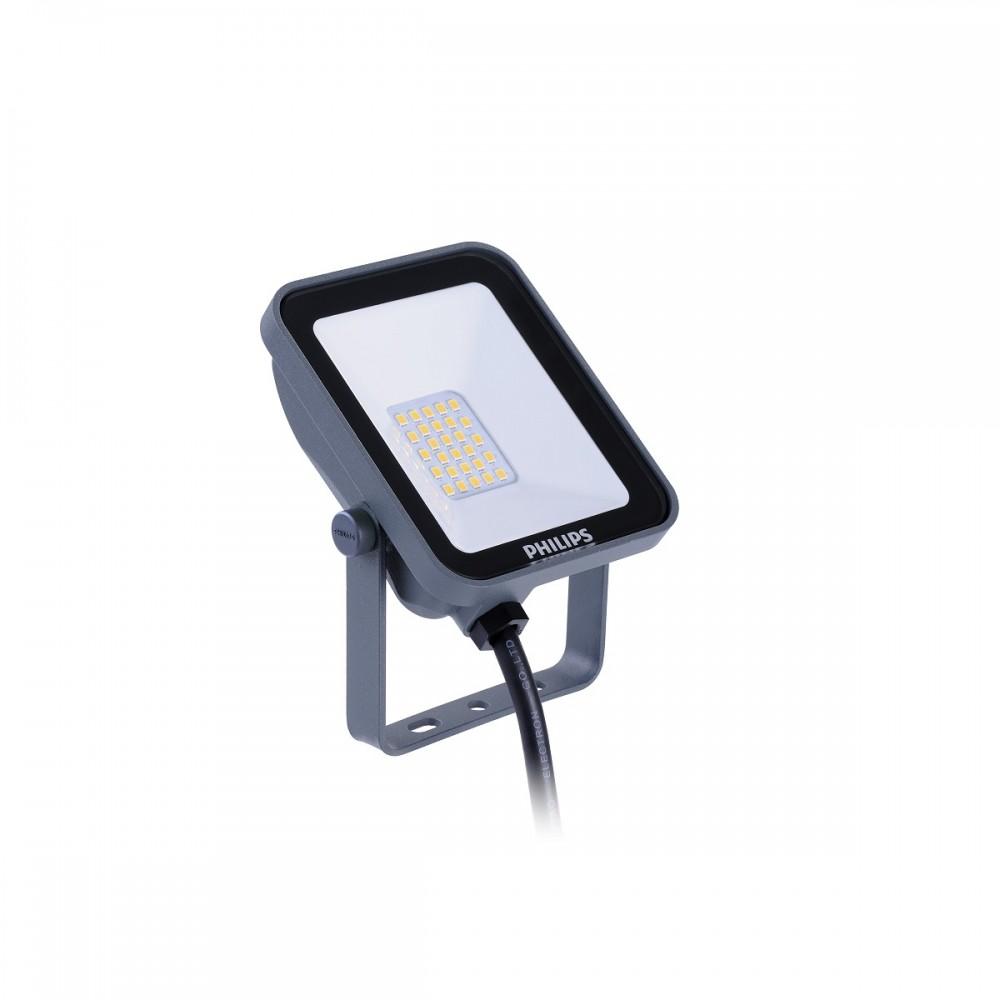 Proiector LED 10W PHILIPS LEDINAIRE BVP154 Corp Gri Alb Neutru