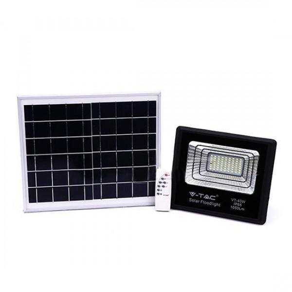 Proiector LED negru 16W Alb Neutru cu pa...