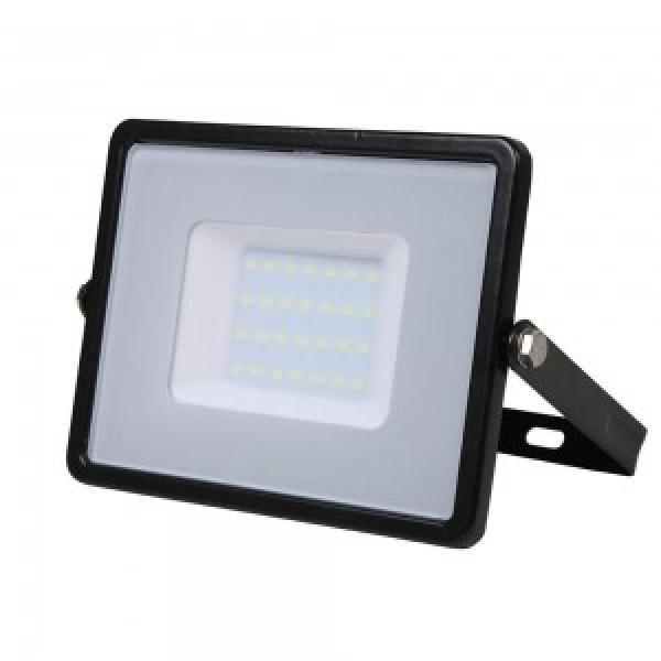 Proiector 30W LED Corp Negru SMD CIP SAMSUNG Alb Rece