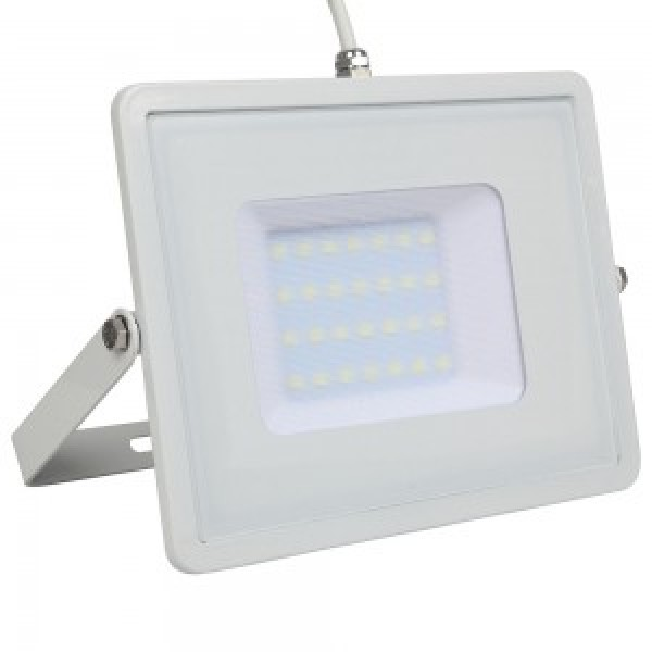 Proiector 30W LED Corp Alb SMD CIP SAMSUNG Alb rece