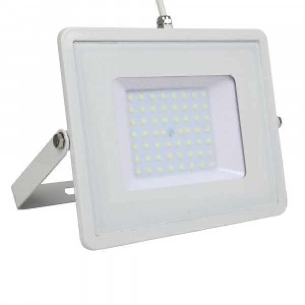 Proiector LED 50W Alb SMD Chip Samsung Alb Cald