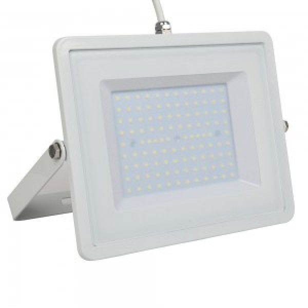 Proiector LED 100W Corp Alb SM...