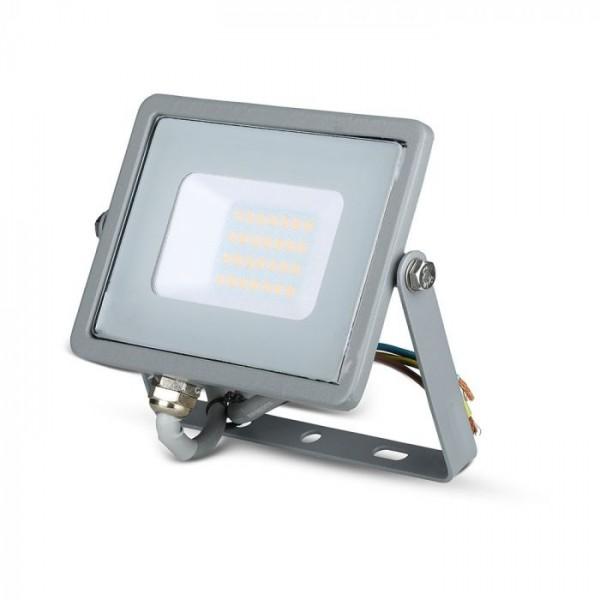 Proiector LED 20W Cip Samsung Corp Gri Alb Neutru