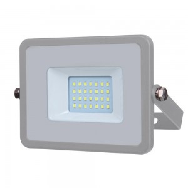 Proiector LED 20W Corp Gri SMD SAMSUNG CHIP Alb Rece