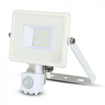 Proiector LED cu senzor 20W Cip SAMSUNG Corp Alb Alb Neutru