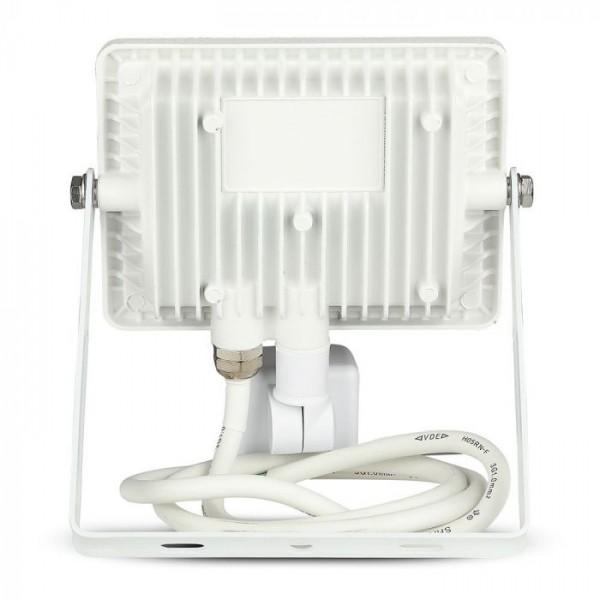 Proiector LED cu senzor 20W Cip SAMSUNG Corp Alb Alb Rece