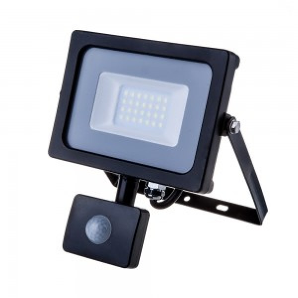 Proiector LED 20W SMD Corp Negru cu senz...