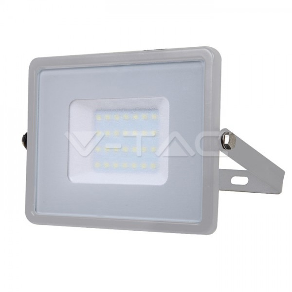 Proiector LED 30W Corp Gri Samsung SMD Alb Rece