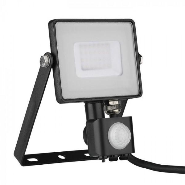 Proiector LED cu senzor 30W Cip SAMSUNG Corp Negru Alb Neutru