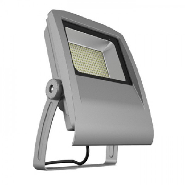 Proiector LED 100W Gri SMD Alb Cald