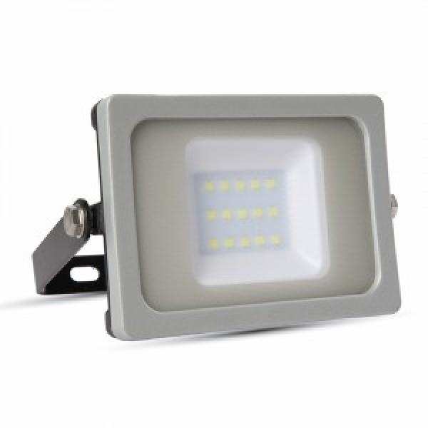Proiector LED 10W Corp Negru Gri SMD Alb Cald