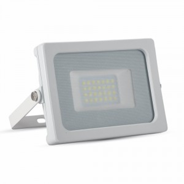 Proiector LED 20W Corp Alb SMD Alb Rece