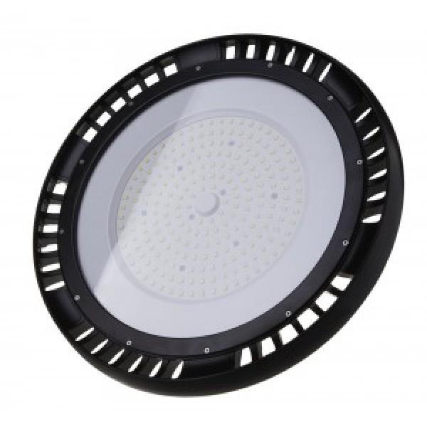 Lampa industriala LED 200W CHIP SAMSUNG driver MEANWELL Corp Negru UFO Alb Rece
