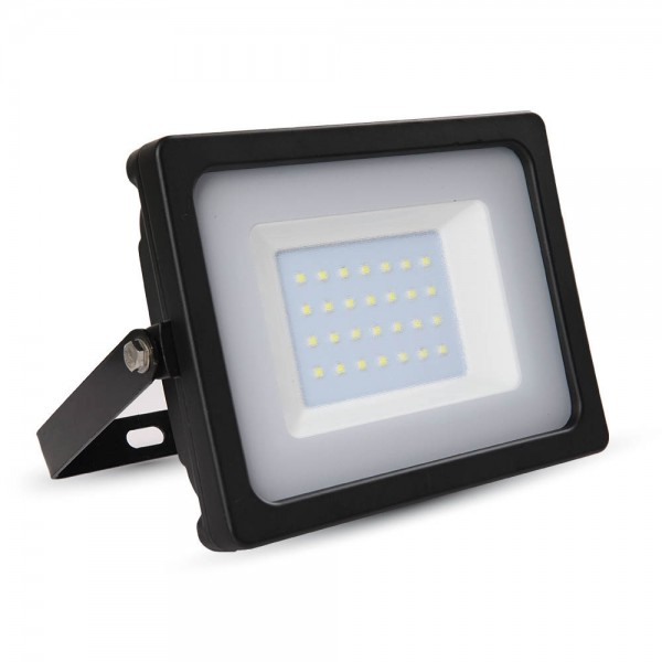 Proiector LED 30W Corp Negru SMD Alb Rece