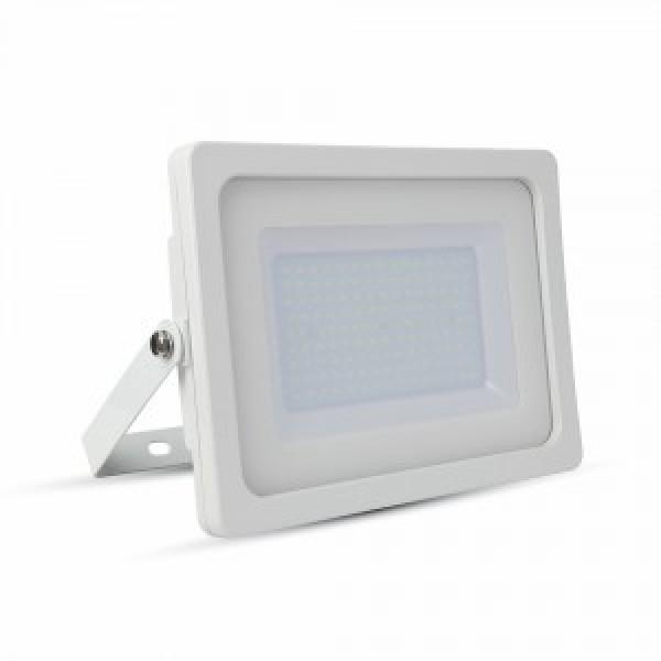 Proiector LED 100W Alb SMD Alb Cald