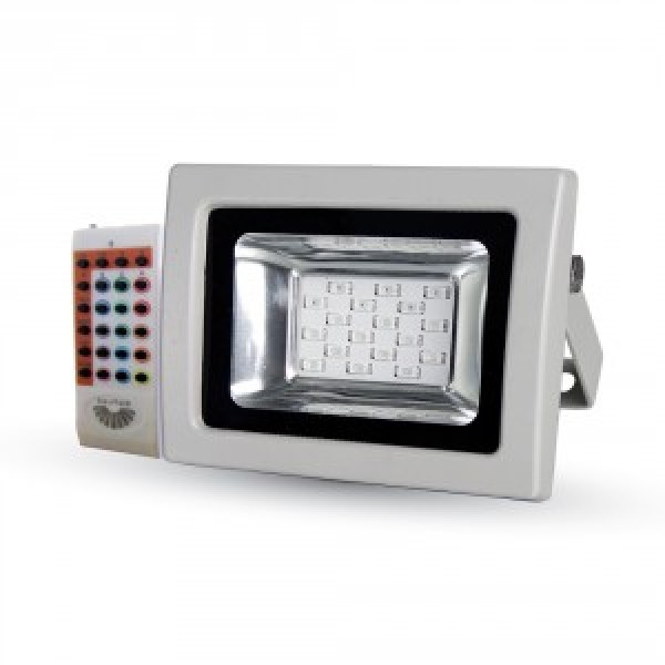 Proiector LED 10W SMD RGB cu Telecomanda...