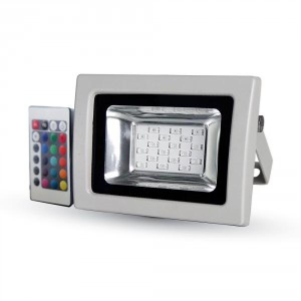 Proiector LED 10W SMD RGB cu T...