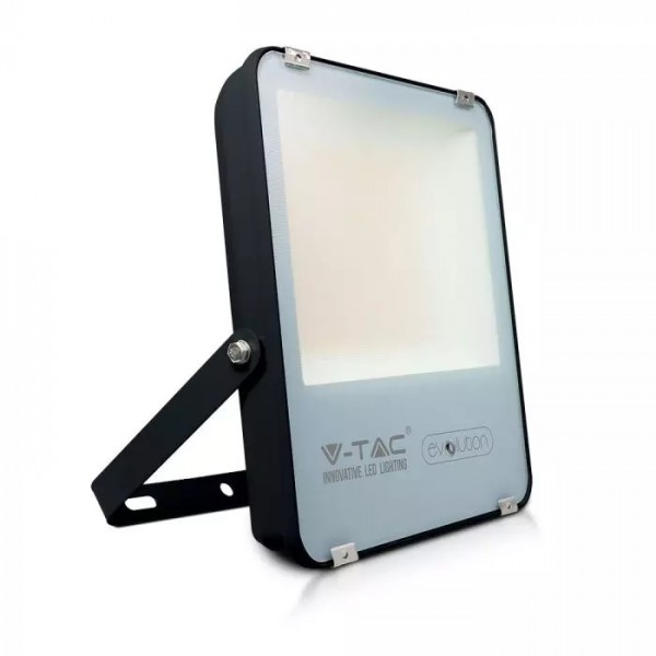 Proiector LED 100W A+++ Evolution 160lm/W Corp Negru Alb Neutru