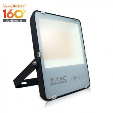 Proiector LED 200W A+++ Evolution 160lm/W Corp Negru Alb Rece
