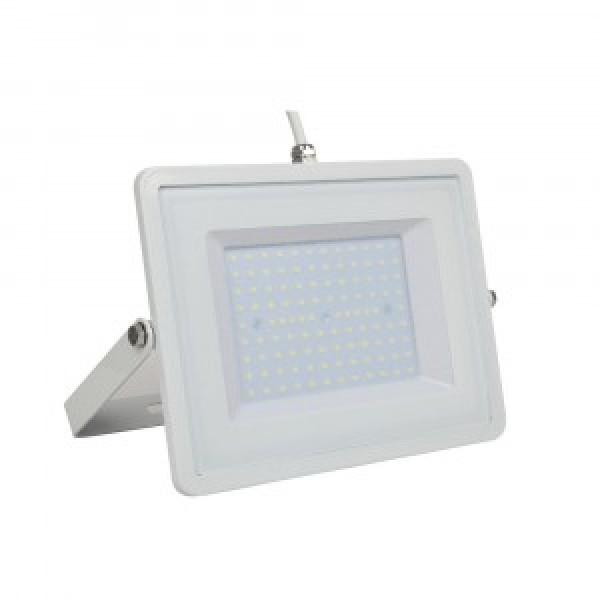 Proiector LED 100W Alb SMD Alb Neutru