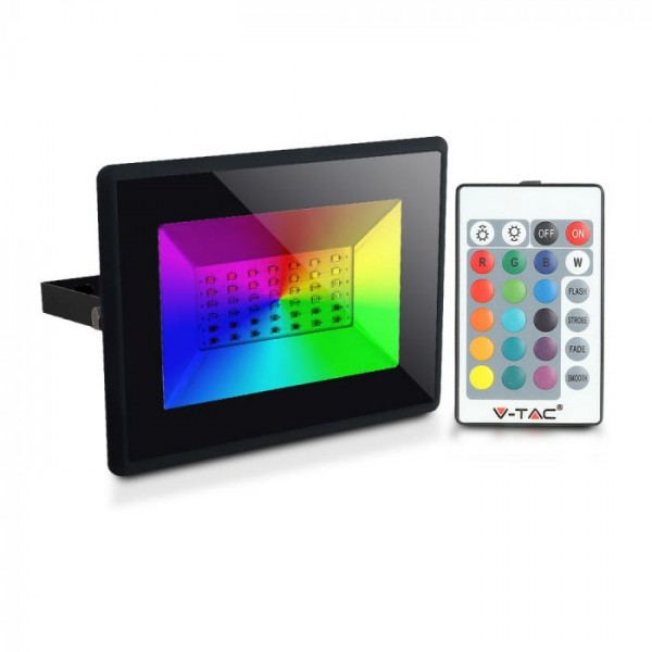 Proiector LED RGB 30W Dimabil cu Telecomanda