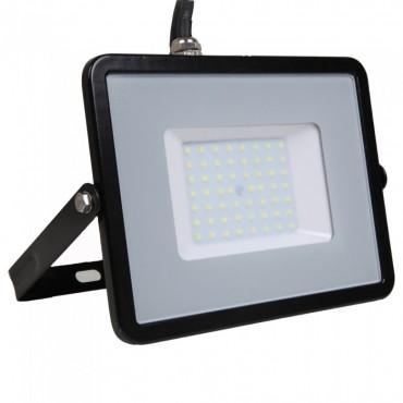 Proiector LED 50W Corp Negru Samsung SMD 120lm/W Alb Neutru