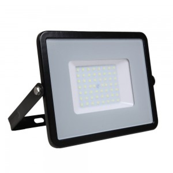 Proiector LED 50W Corp Negru Samsung SMD 120lm/W Alb Rece