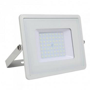 Proiector LED 50W Corp Alb Samsung SMD 120lm/W Alb Neutru