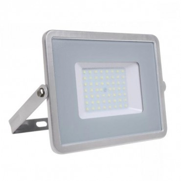 Proiector LED 50W Corp Gri Samsung SMD 120lm/W Alb Neutru