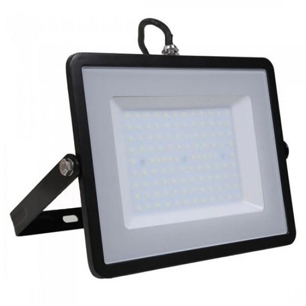 Proiector LED 100W Corp Negru Samsung SMD 120lm/W Alb Neutru