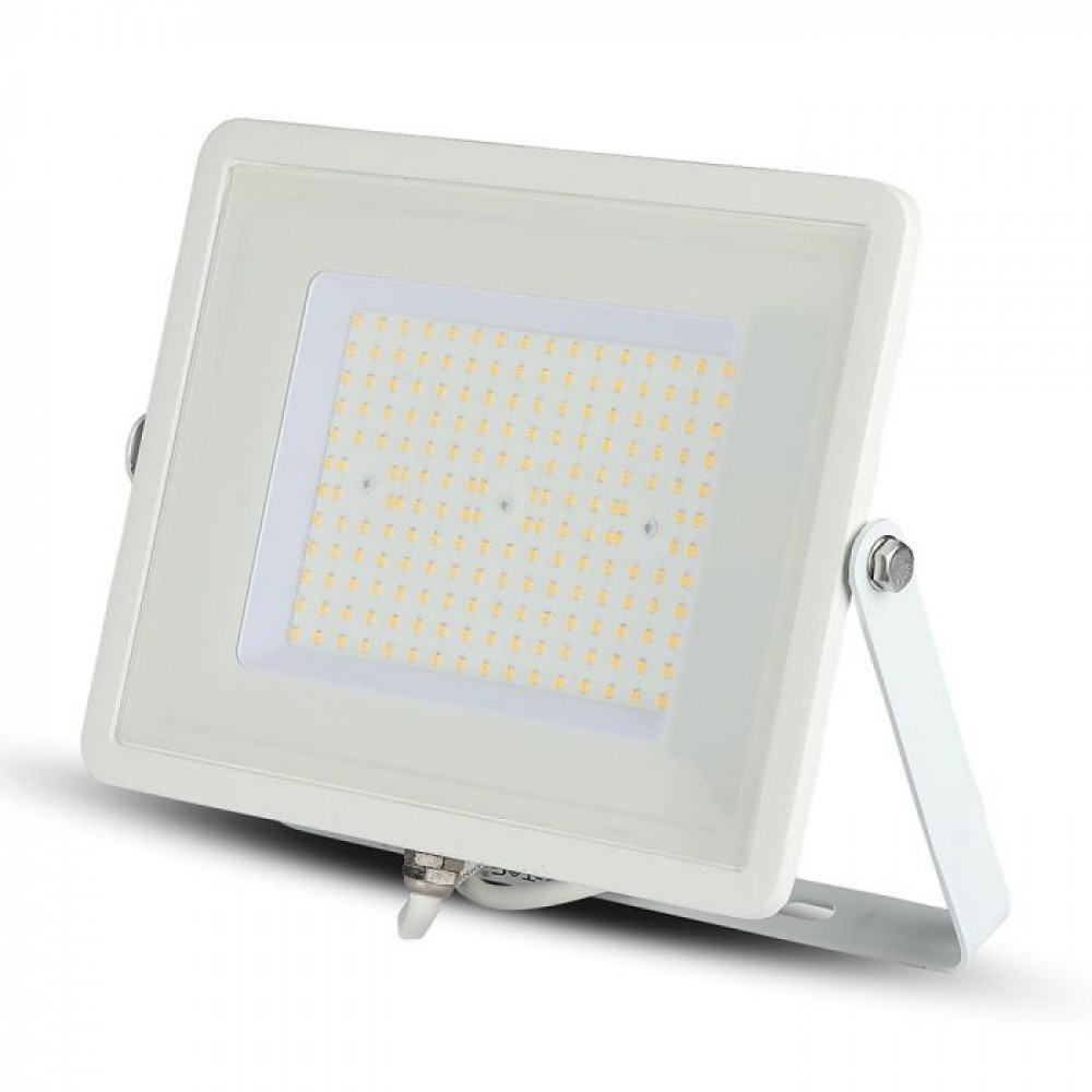 Proiector LED 100W Cip SAMSUNG 120lm/W Corp Alb Alb Rece