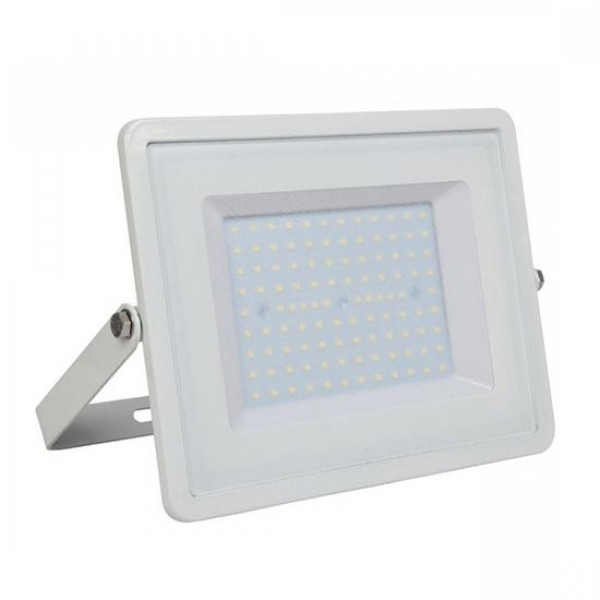 Proiector LED 100W Corp Alb Samsung SMD ...
